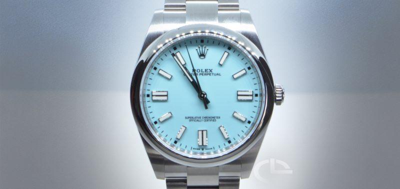 Rolex Oyster Perpetual *Esfera Tiffany
